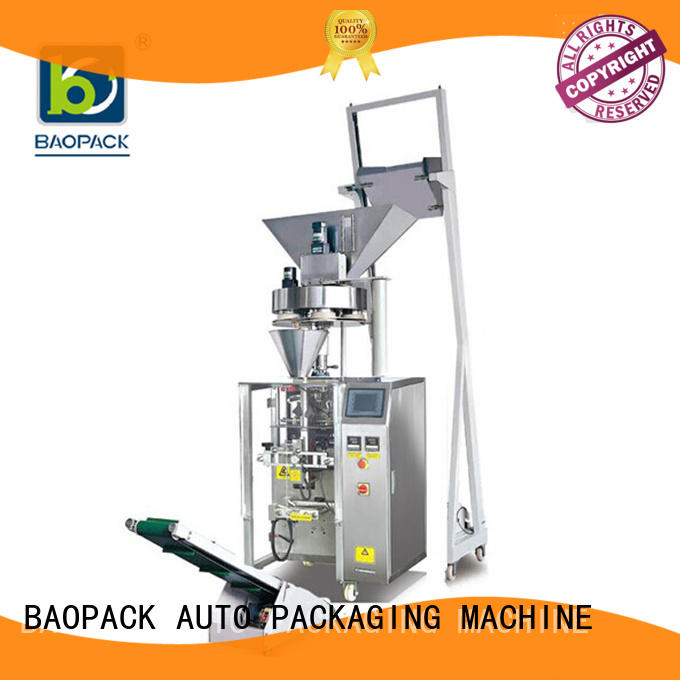 vertical form fill and seal packaging machines biscuits for commercial BAOPACK